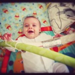 Tactile and visual entertainment tubes. let's make stuff. Toilet roll fun with baby. baby-brain.co.uk, psychology resource perspective blog on babies & motherhood.