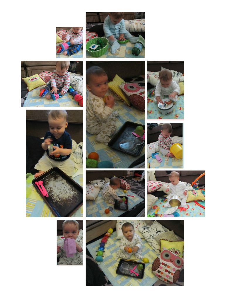 enjoying treasure baskets - why and how to make and use treasure baskets with infants, and about heuristic play - Baby-Brain.co.uk - Psychology resource and perspective on babies and motherhood