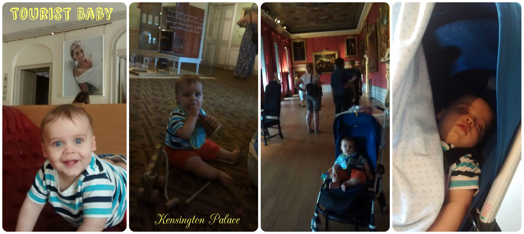 tourist baby - activity ideas with baby - Kensington Palace London UK. baby-brain.co.uk