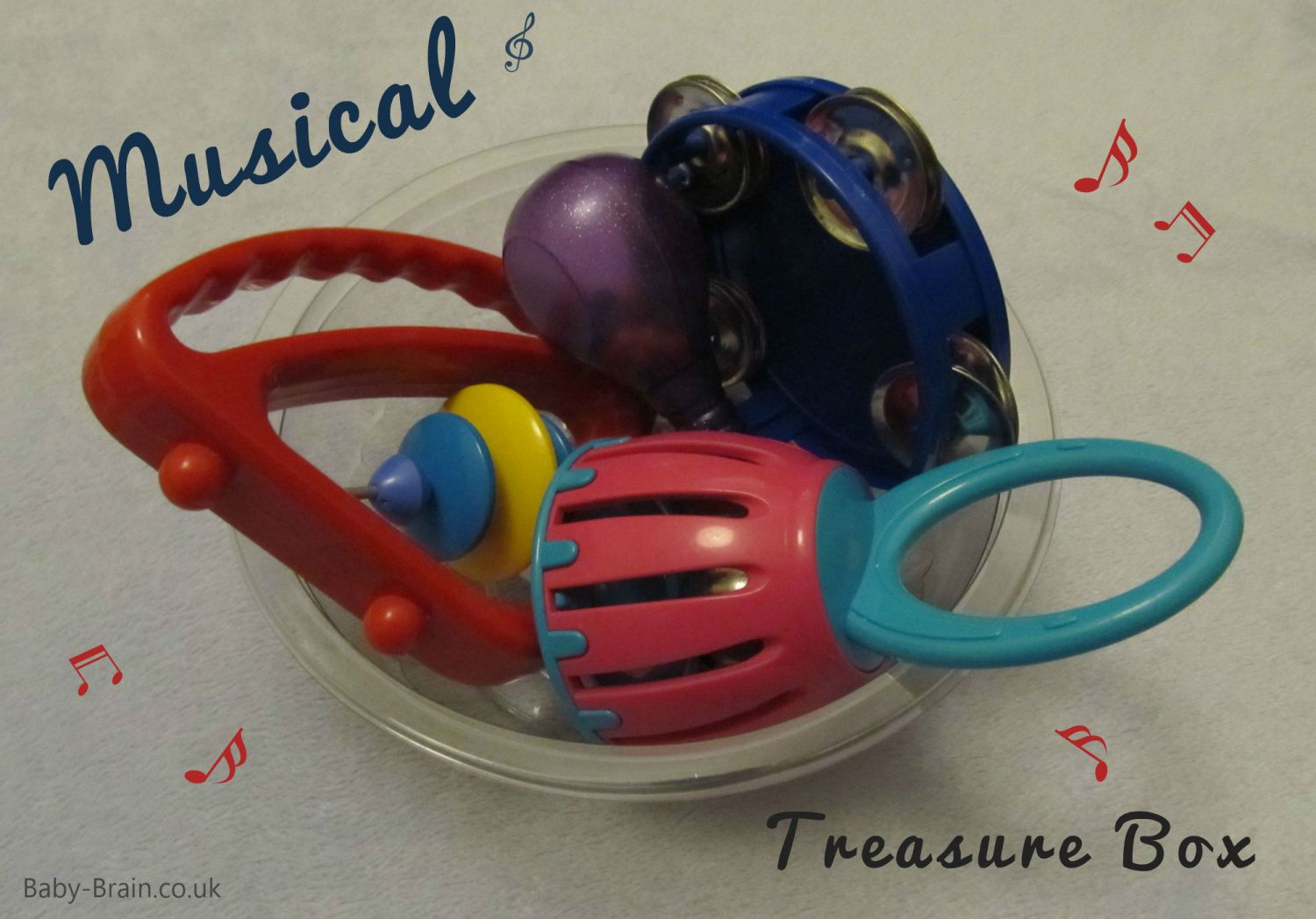 treasure baskets & heuristic play: how, why, what. Music box.  baby-brain.co.uk