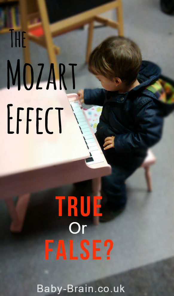 The Mozart Effect: Is it real or not? The impact of music on child development discussed. baby-brain.co.uk