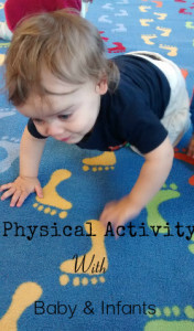 physical activity with babies and toddlers: the importance of and guidelines