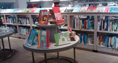 Baby Friendly London. Foyles Bookshop, Children's Books. London & Baby from Baby-Brain.co.uk