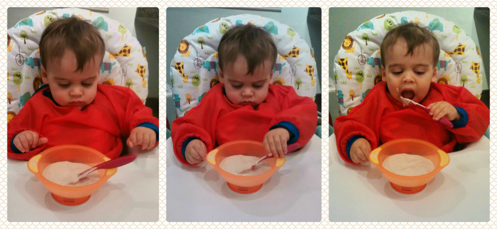 Learning To Self Feed And Our New Sucky Bowl Baby Brain