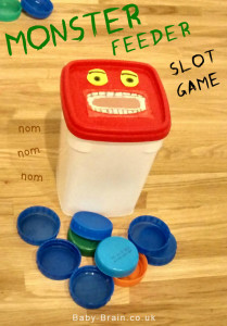 Monster Feeder slot game babies toddlers small noms