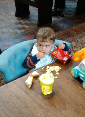 Things I do as a parent I feel guilty about - Placating with food