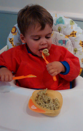 My toddler won't eat his vegetables so I sneak them into food - here's one recipe! And he eats it!