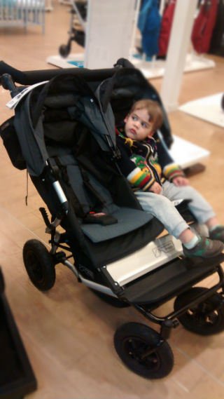 The Mountain Buggy Duet 2.5 - Mission to find a double buggy for newborn and toddler review