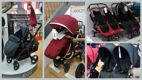 Mission to find a double buggy for newborn and toddler: some buggies have weight limit of 15kg per child!
