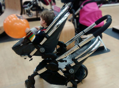 The iCandy - Mission to find a double buggy for newborn and toddler review