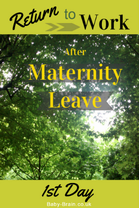 "Mum's 1st ""day"" back at work after maternity leave - what it was like, how I felt, what happened!"