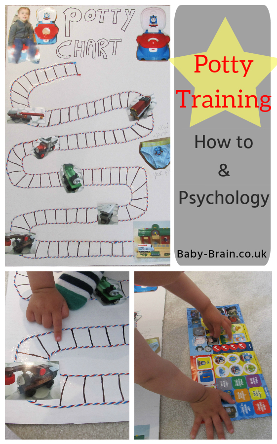 How we potty trained: Psychology, reward charts, practice!