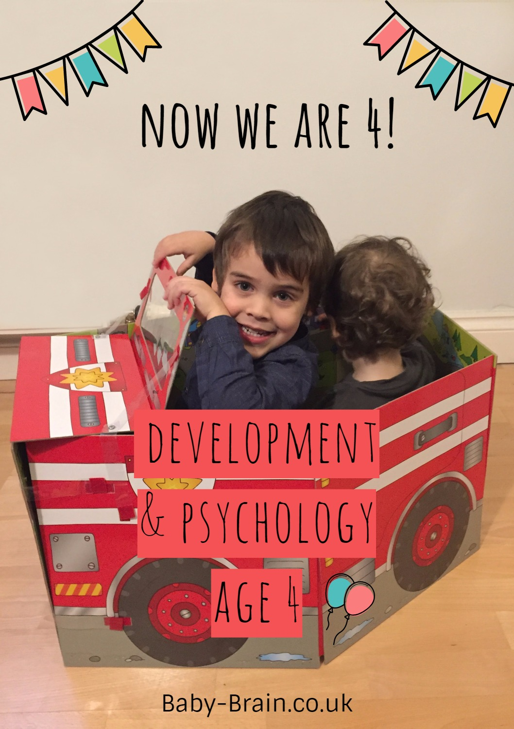 Development & Psychology aged 4 - what can we expect?
